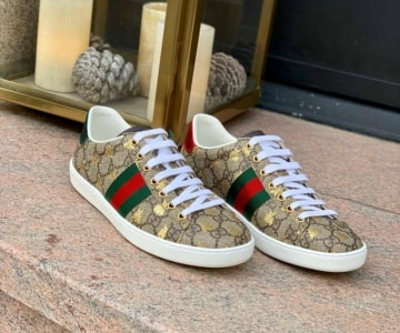Gucci Ace GG Supreme Leo Zodiac Sign